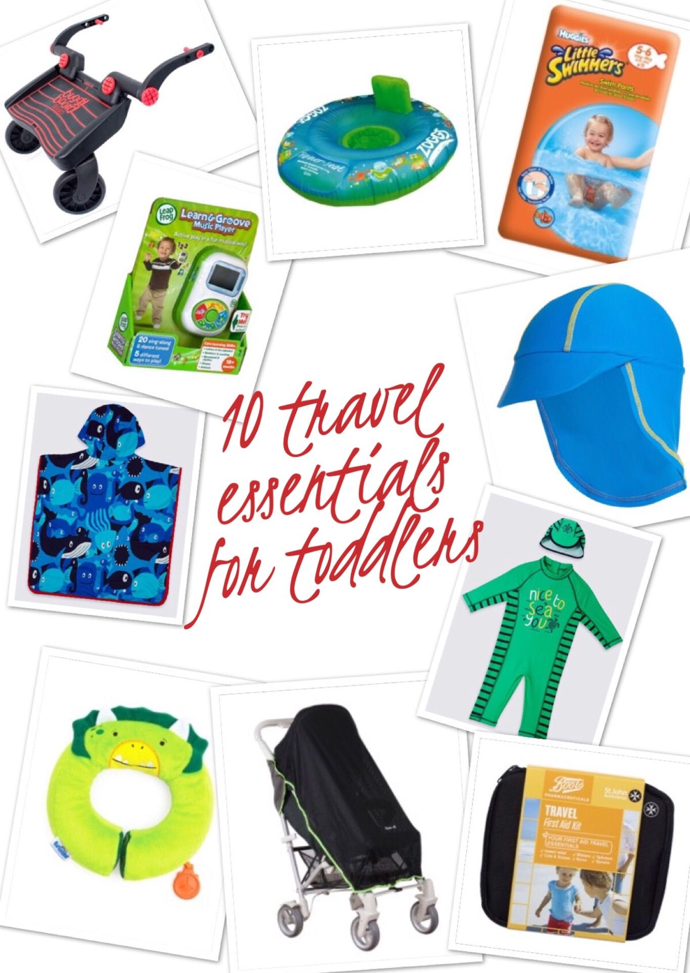10 Travel Essentials For Toddlers With Images