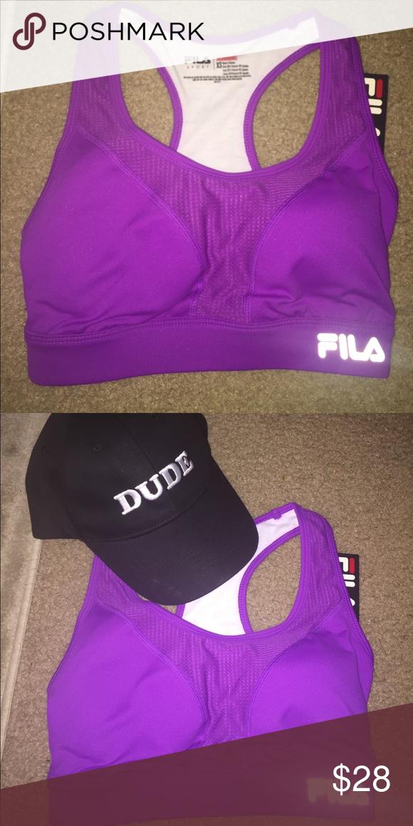 660bf7243077f Fila sports bra XS Brand new with tags Fila sports bra size XS Fila Other