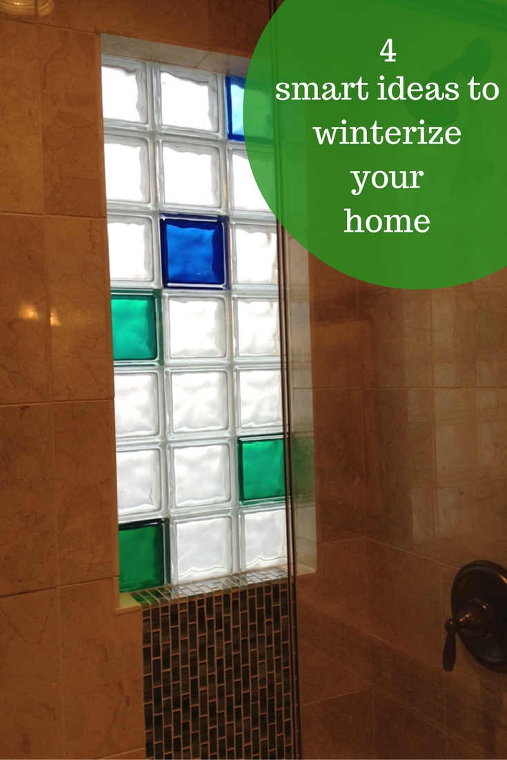4 Amazingly Smart Projects To Winterize And Add Resale Value To Your Home Glass Block Windows Window In Shower Glass Blocks