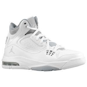 new york ff40b 0645b Jordan Flight 23 RST - Big Kids - Basketball - Shoes - White Metallic  Silver Wolf Grey
