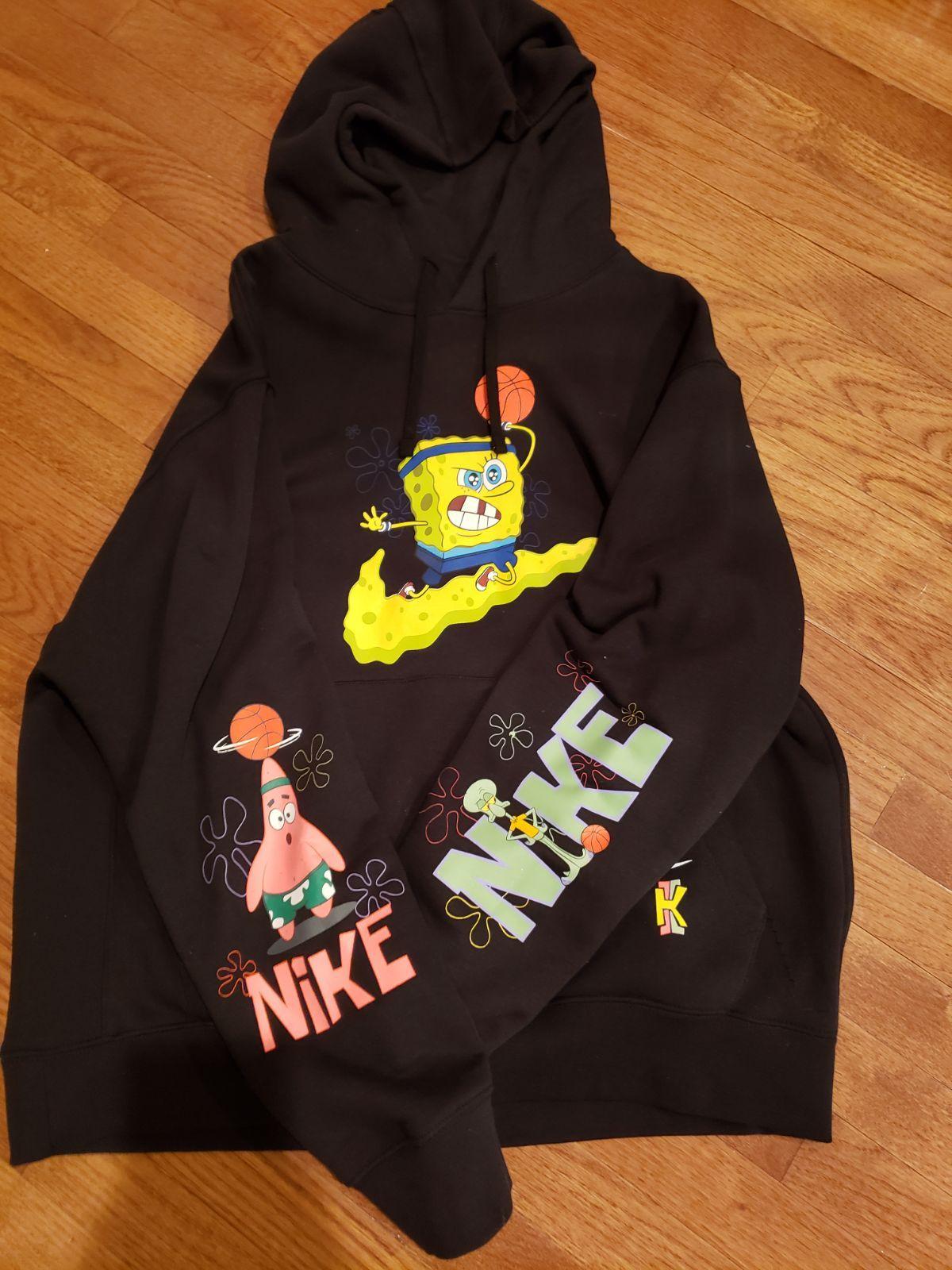 Nike Kyrie Spongebob Hoodie Mercari Trendy Hoodies Stylish Hoodies Vintage Hoodies [ 1600 x 1200 Pixel ]