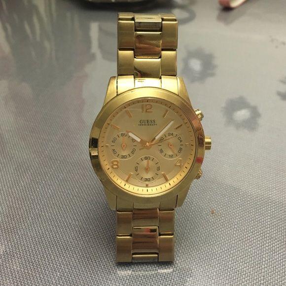 carino Fiorire Surichinmoi  Guess watch | Guess watch, Gold watch, Accessories watches