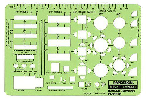 Rapidesign  Inch BanquetSeminar Planner Template  Each R