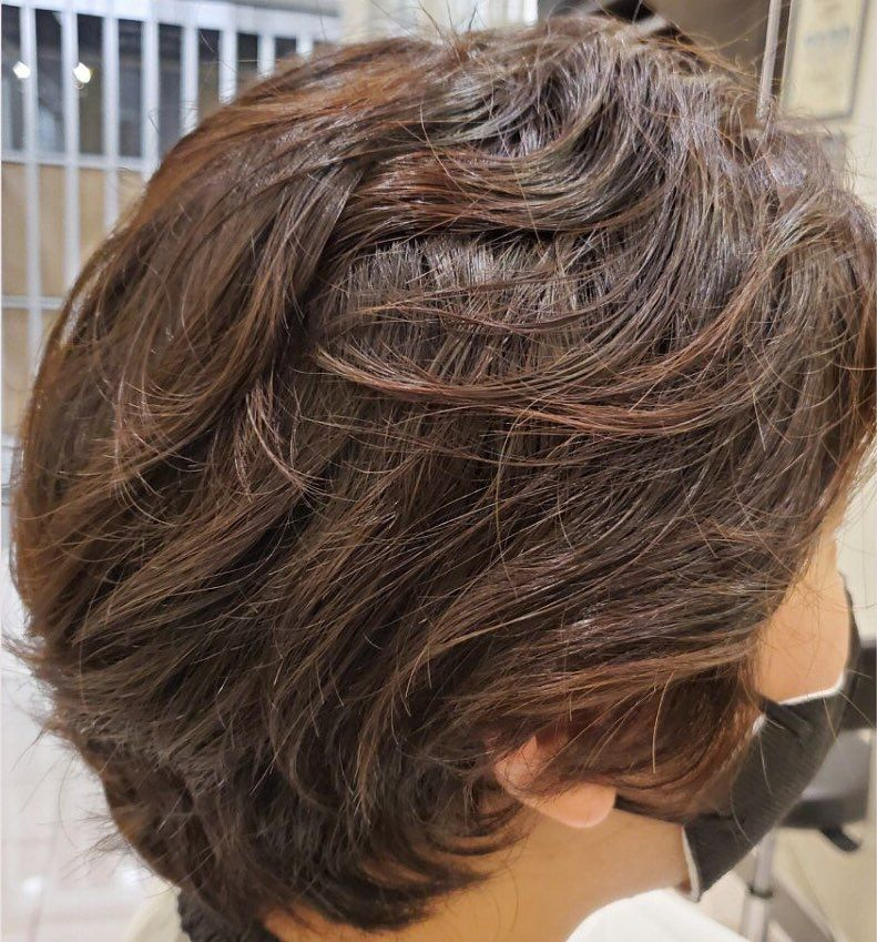 Perm Hairstyles For Men How To Style Best Products For Permed Hair Permed Hairstyles Hair Styles Wave Perm
