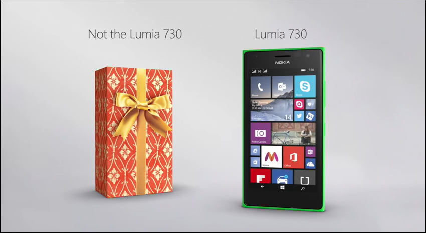 Video The lovely Lumia 730 Ad from Microsoft India