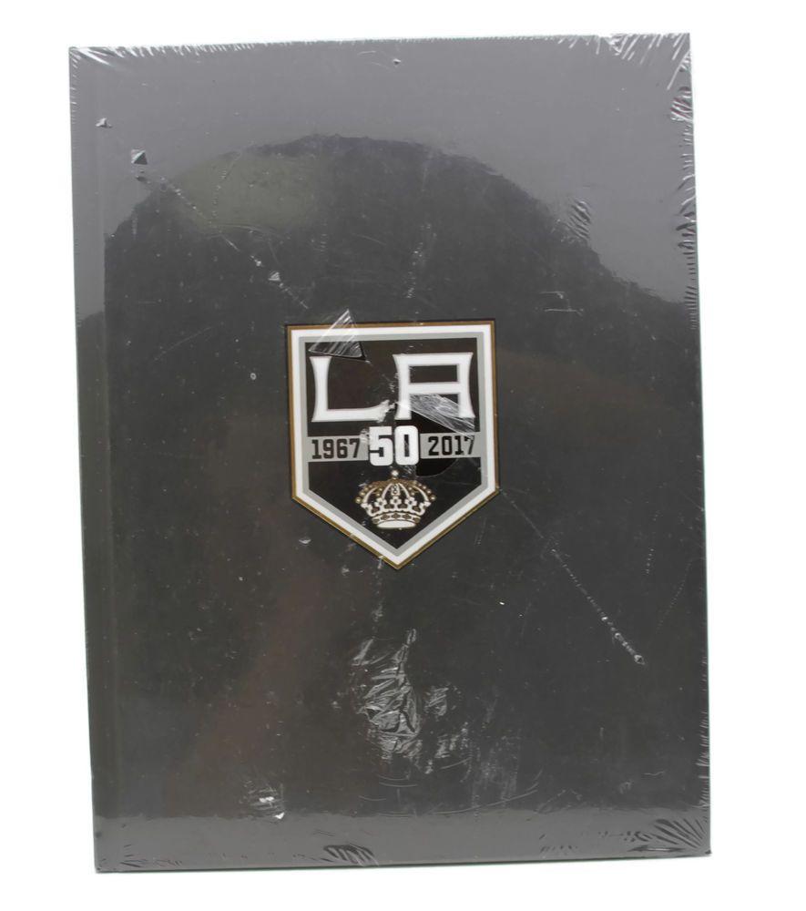 the best attitude 0efd7 61eb9 LA Kings Hockey 50th Anniversary Hardcover Book Season ...
