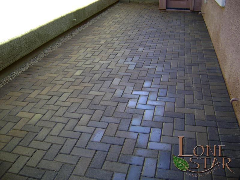 Brick paver patio in Phoenix, AZ. - www.lonestaraz.com - Brick Paver Patio In Phoenix, AZ. - Www.lonestaraz.com Textures