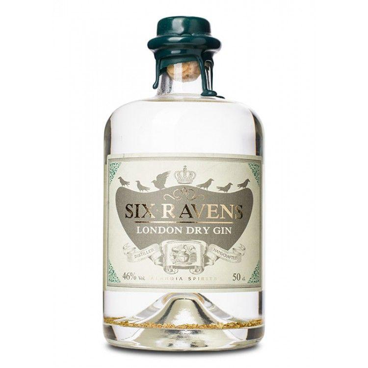 Golden Times: Six Ravens London Dry Gin Gold | Gin | Pinterest ...