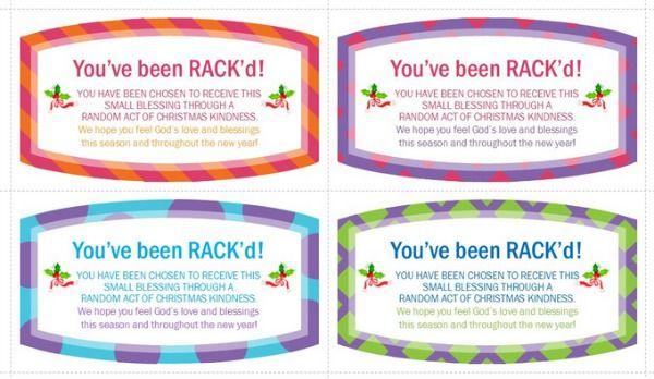 Random Acts Of Christmas Kindness Make Someone S Day Random Acts Of Kindness Card Template Acting