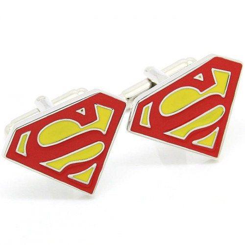 Boutons de manchette superman par yourweddingstore sur - Symbole de superman ...