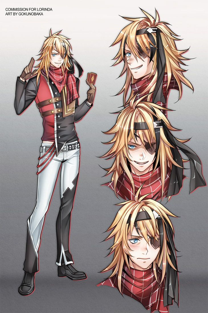 Character design commission for lorinda by gokunobaka