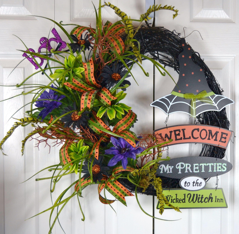 Gaslight Floral Design Floral Wreathshalloween