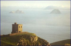 Skellig Michael, a UNESCO Heritage site off the West coast of Ireland
