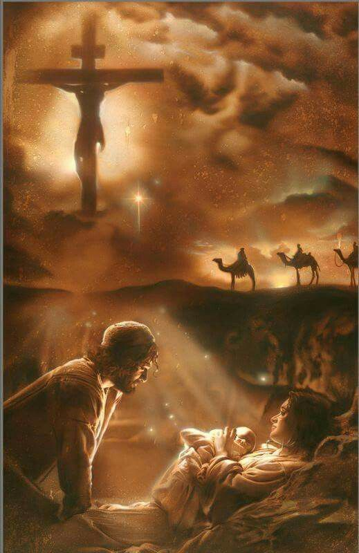 """Photo of 🎶🎵 """"Me pregunto cuando caminé al aire libre por qué Jesús, mi Salvador, nació para …"""