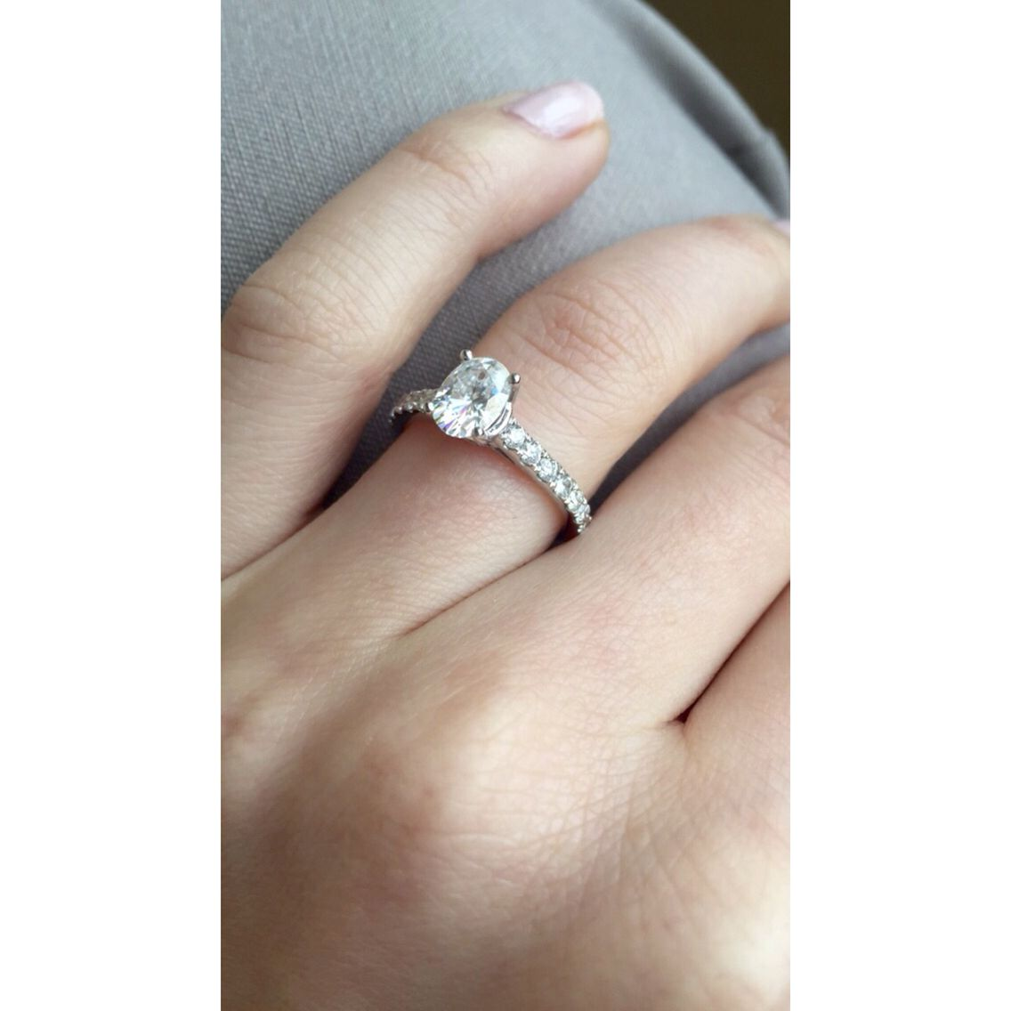 1 1 Carat Oval Solitaire Engagement Ring Solitaire Engagement Ring Oval Solitaire Engagement Ring Engagement Rings Oval