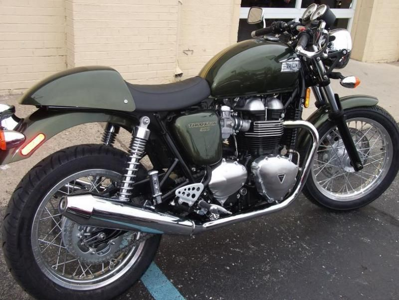 My son just bought a 2013 Triumph Thruxton 900. Am I jealous? Maybe ...