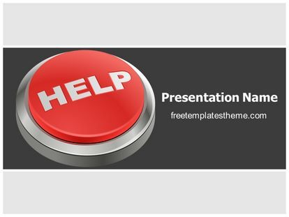Download free help button powerpoint template for your download free help button powerpoint template for your powerpoint toneelgroepblik Image collections