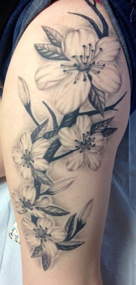 Magnolia Tattoos Black And White Google Search Tattoos Flower