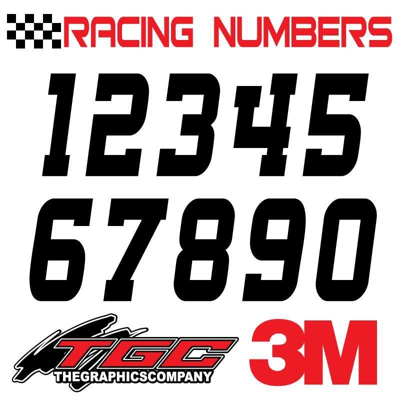 "Sold Individually VINTAGE MOTOCROSS RACE U VINYL DECAL LETTER /""U/"""