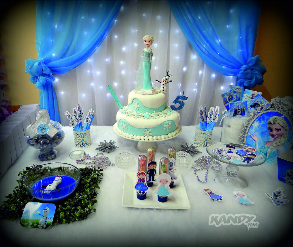 Frozen Disney Birthday Party Ideas Dessert table Birthdays and