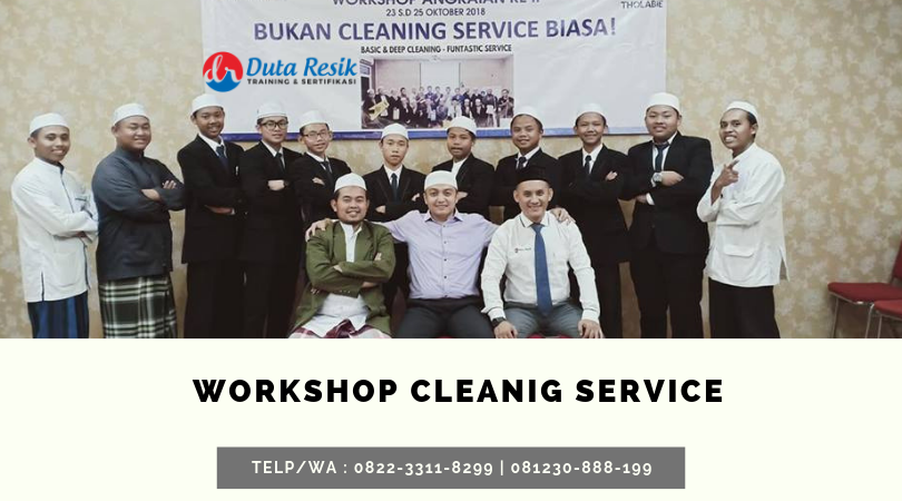 Training cleaning service jakarta, training cleaning