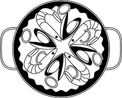 Epingle Par Steph Sur Espagne Dessin Coloriage Paella
