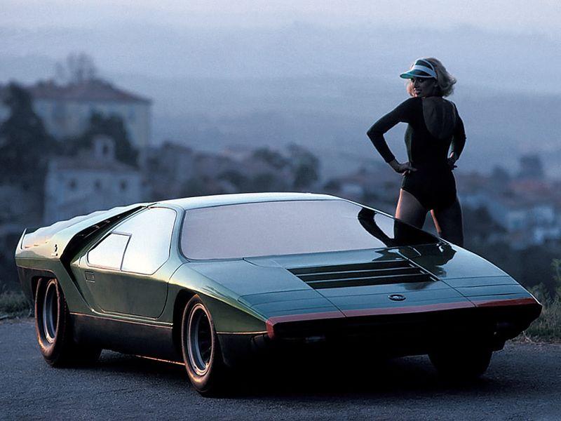 Alfa Romeo Carabo (Bertone), 1968 - Photo: Rainer Schlegelmilch