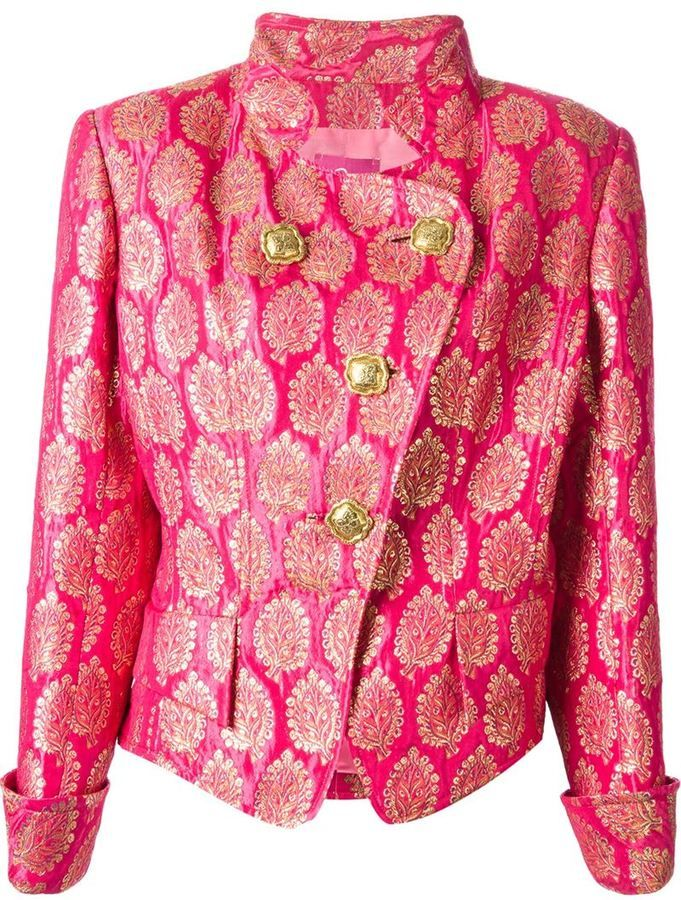 Christian Lacroix Vintage brocade jacket on shopstyle.com