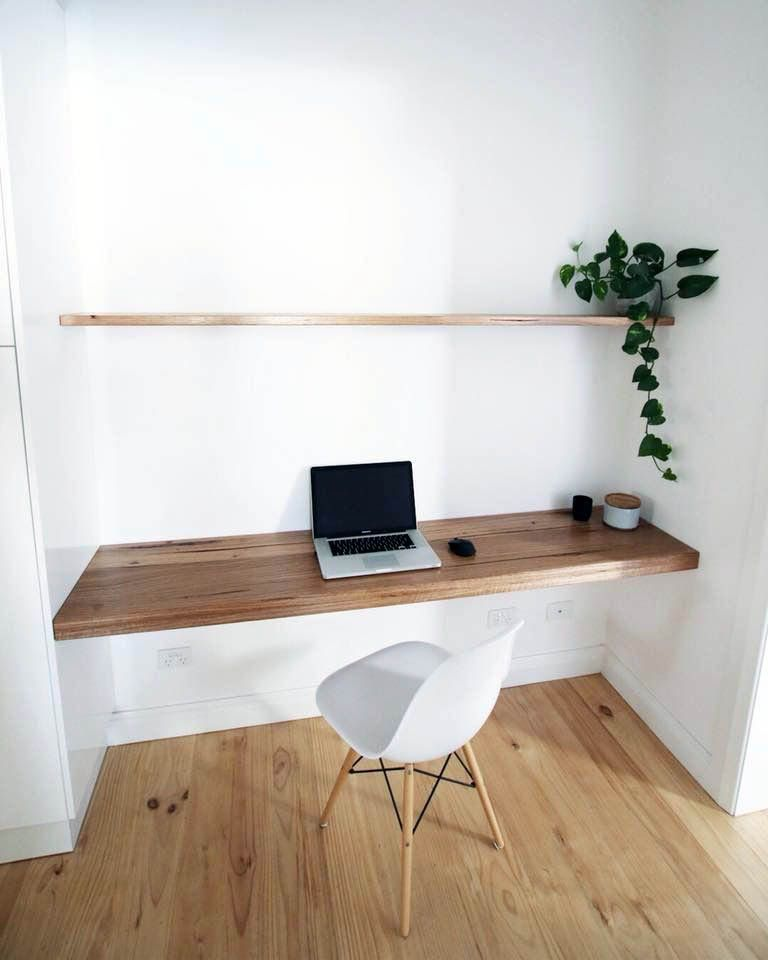 Ways To Decorate A Floating Room Desk Only In Homesable Design Home Office Decor Home Office Design Home