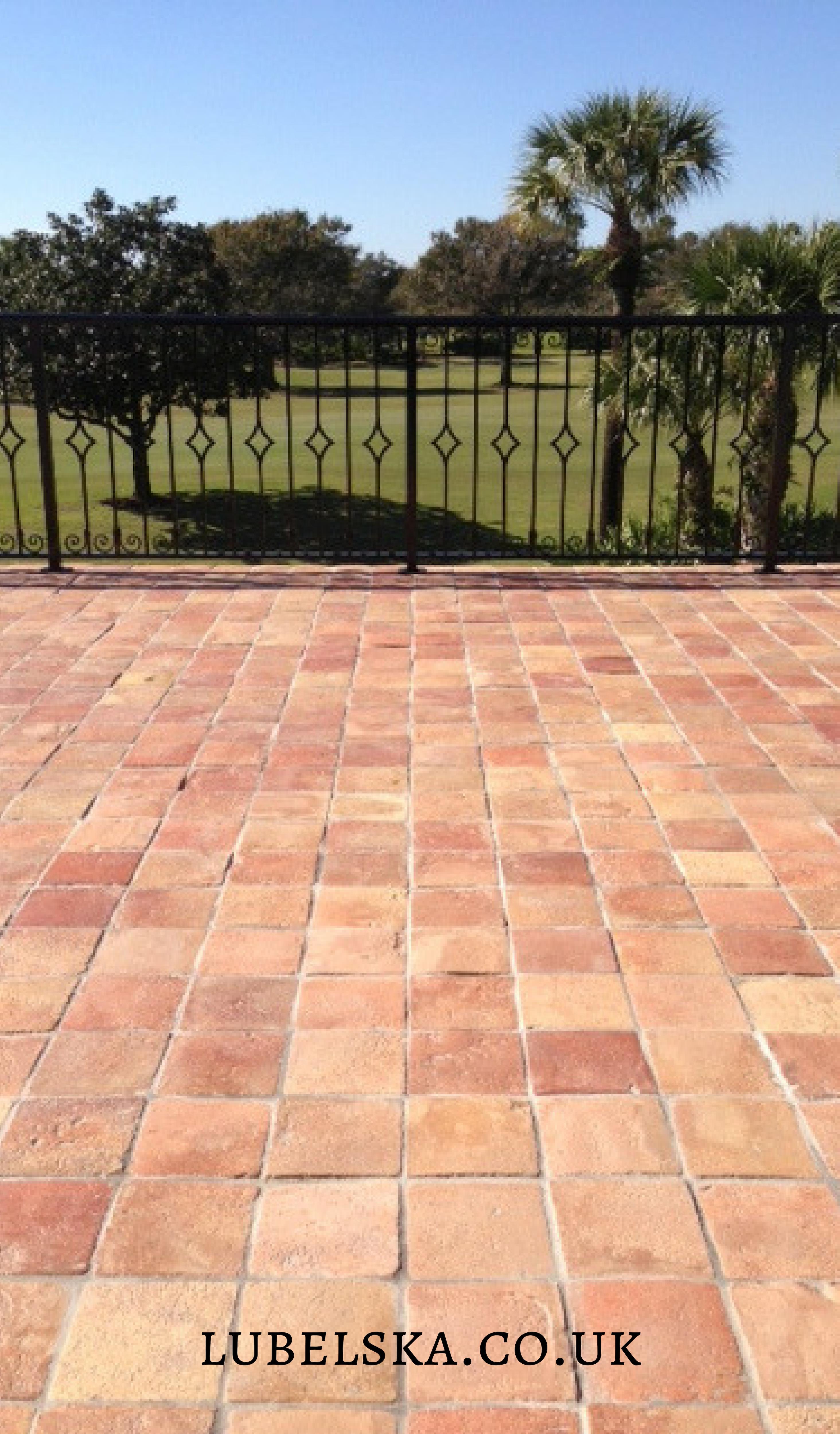 Kr1 Warm Reclaimed Terracotta Tile