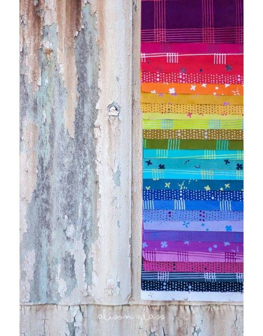 Alison Glass Hand Crafted Chroma Fat Quarter Bundle