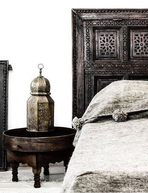 With a more colorful bead spread | Moroccan Decor | Pinterest ...
