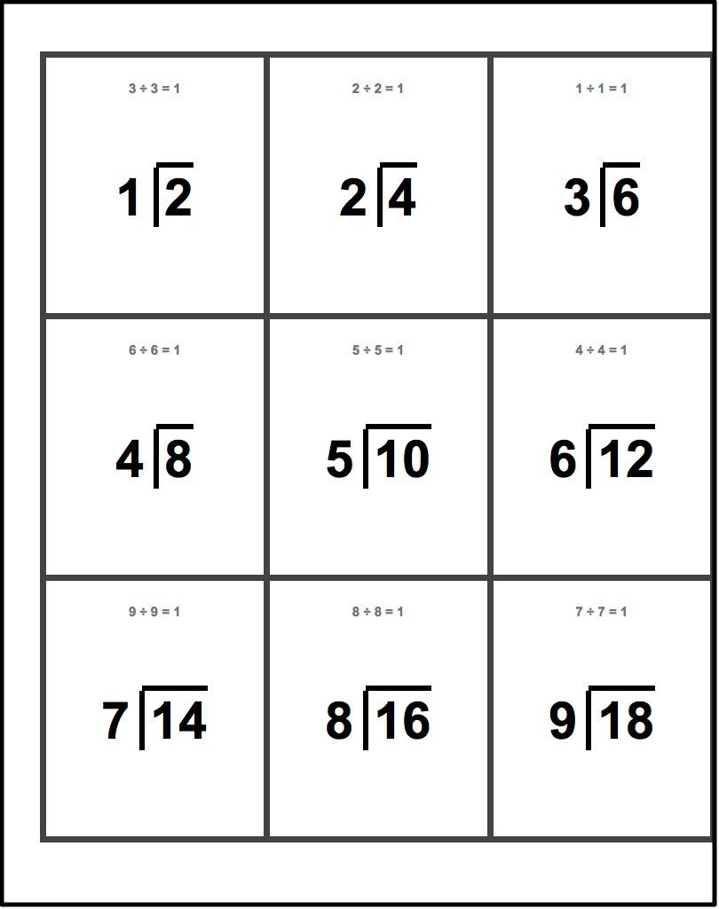 worksheet Division Flash Cards Printable when timed tests arent enough youve drilled and find this pin more on math goodies by dadsworksheets flash cards
