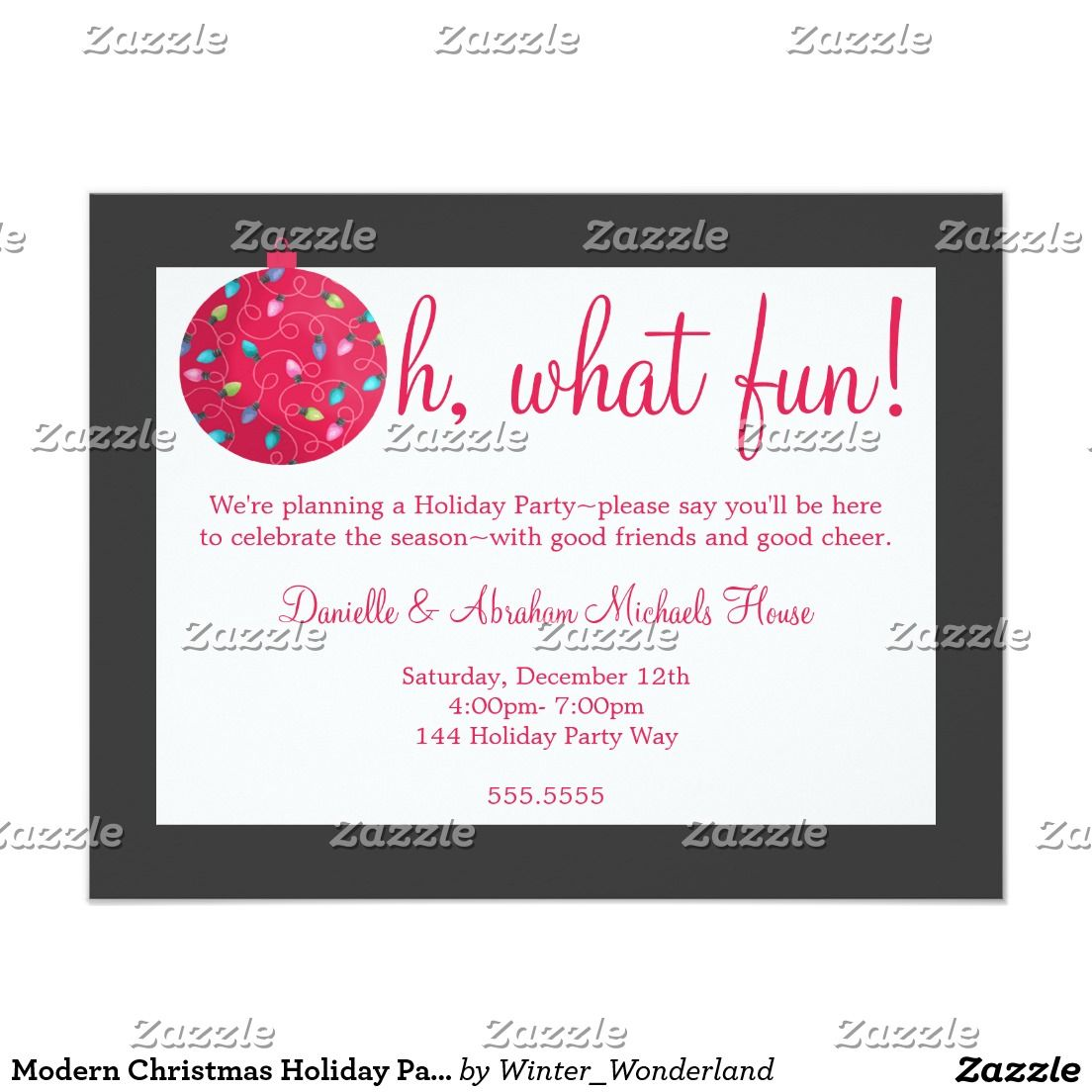 Blackboard Naughty or Nice Christmas Party Invites | Christmas Party ...
