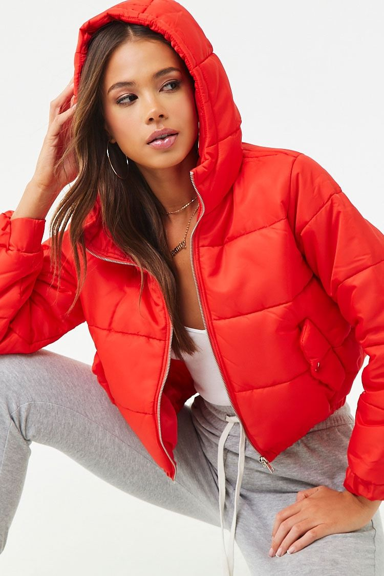Pin By Klinda Torrales On Christmas 19 Red Puffer Jacket Jackets Puffer Jackets [ 1125 x 750 Pixel ]