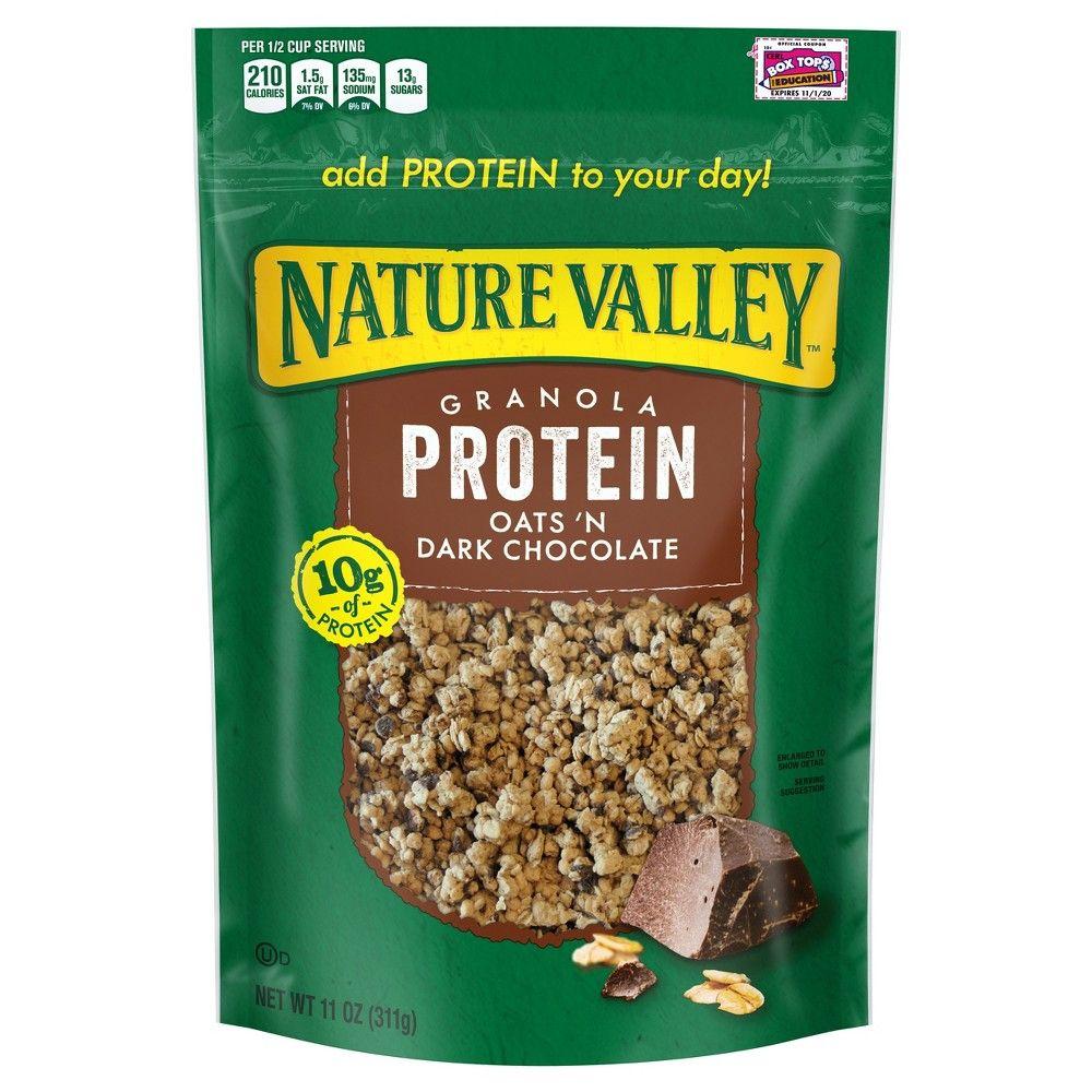 Nature Valley Protein Oats 'n Dark Chocolate Crunchy