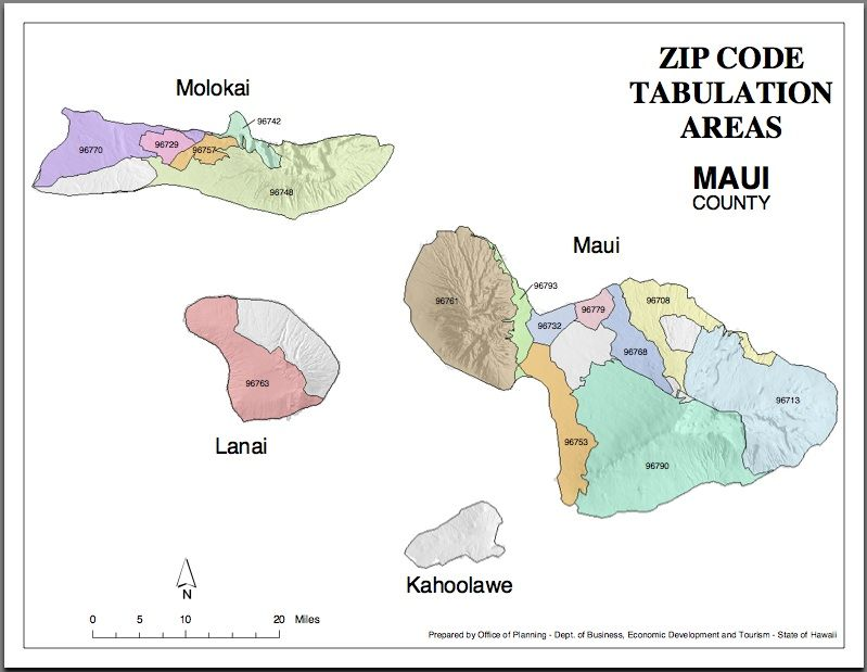 Maui Zip Codes Map Hawaiian Order Fulfillment Operation - Maui zip code