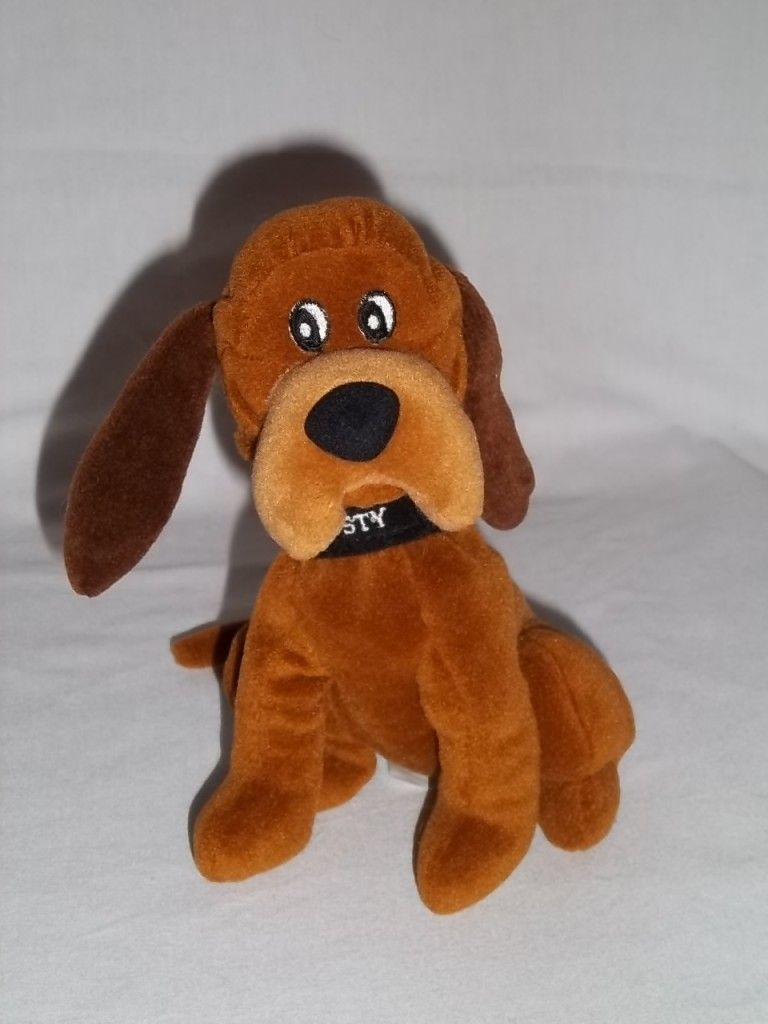 Disney Stuffed Animals Disney Store Lady The Tramp Plush Trusty Dog Bean Bag Brown Stuffed Disney Stuffed Animals Dog Bean Bag Animal Pillows