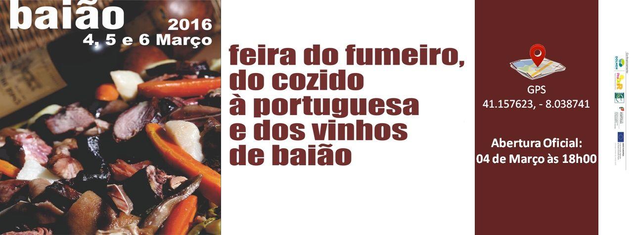 Feira do Fumeiro do Cozido à Portuguesa em Baião