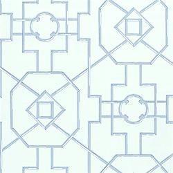 wallpaper - thibaut spring lake - bamboo lattice - wallpaper