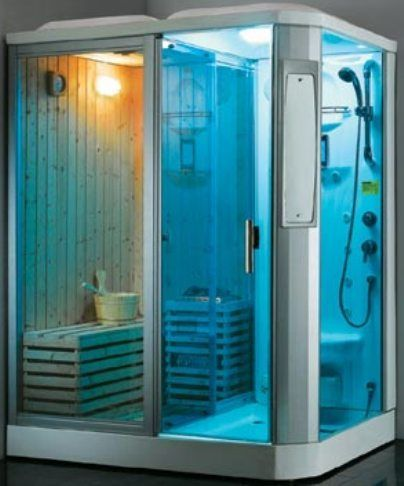 Shower Steam Room Combo | Steam Room And Rock Sauna Combo, Steam And Rock  Sauna