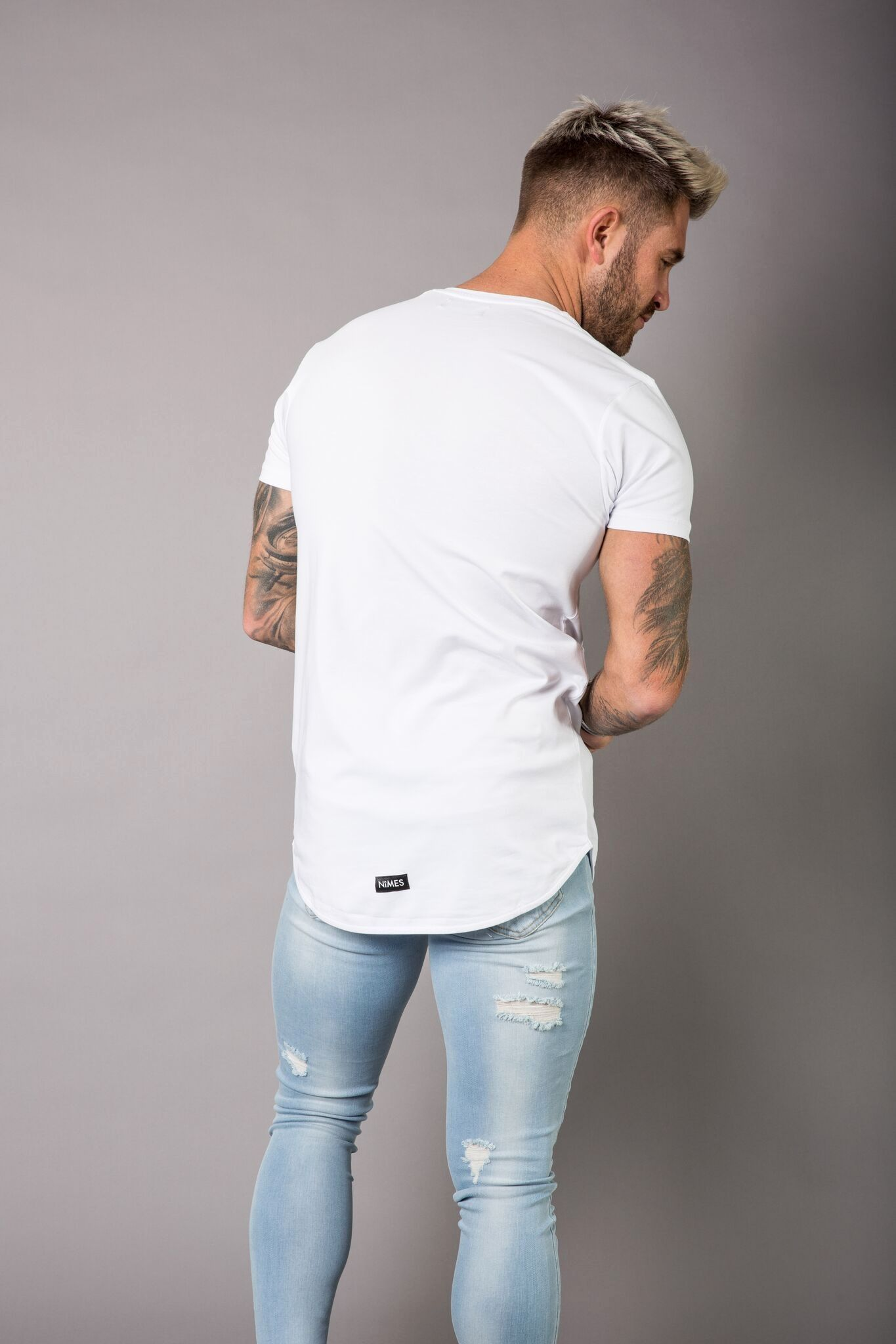 0c0506144be1 Step out in style this season with a pair of NImes super skinny spray on  jeans