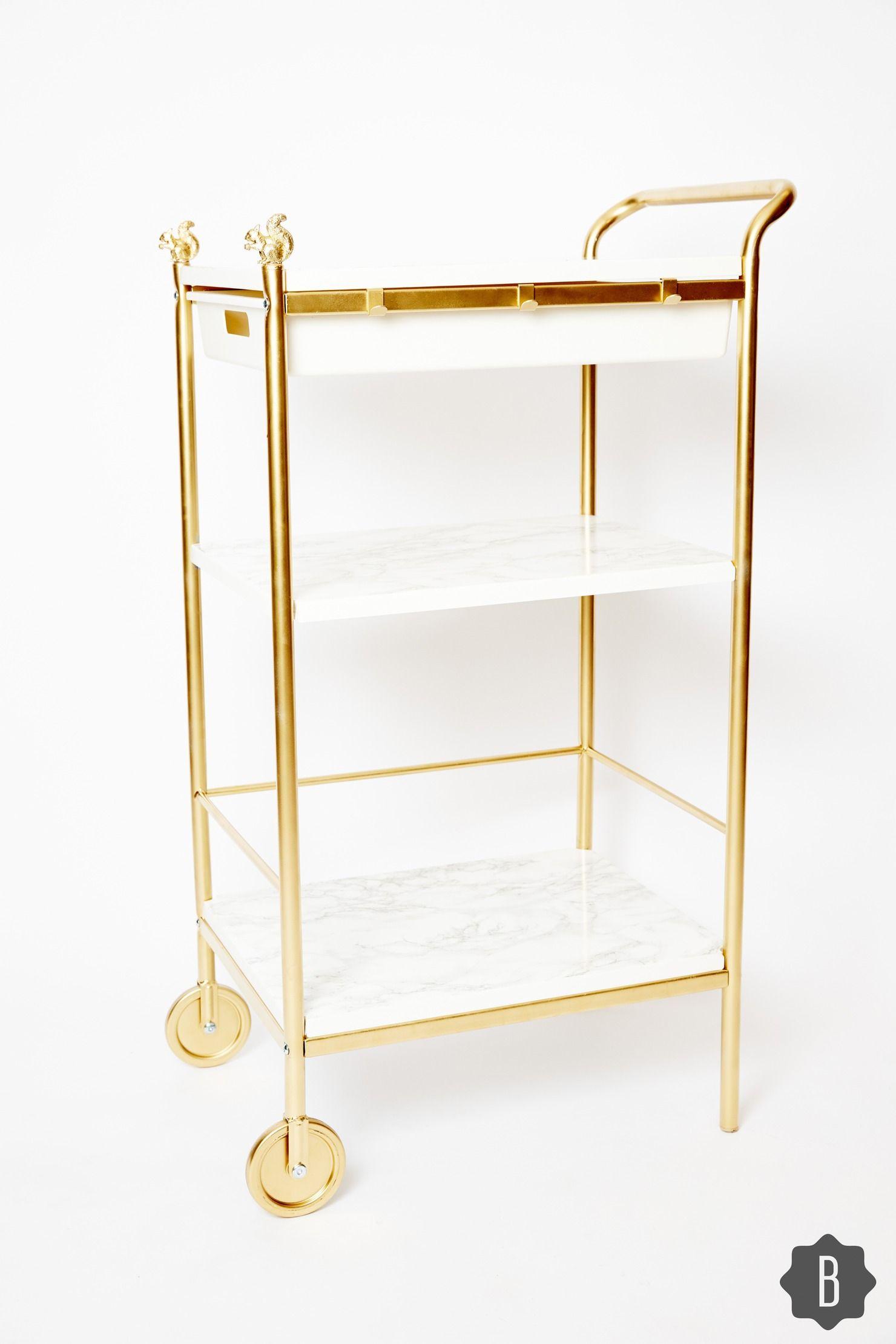 23++ Diy bar cart ikea ideas