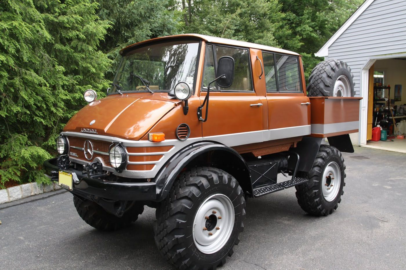 1974 Mercedes Benz Unimog Maintenance/restoration of old/vintage ...