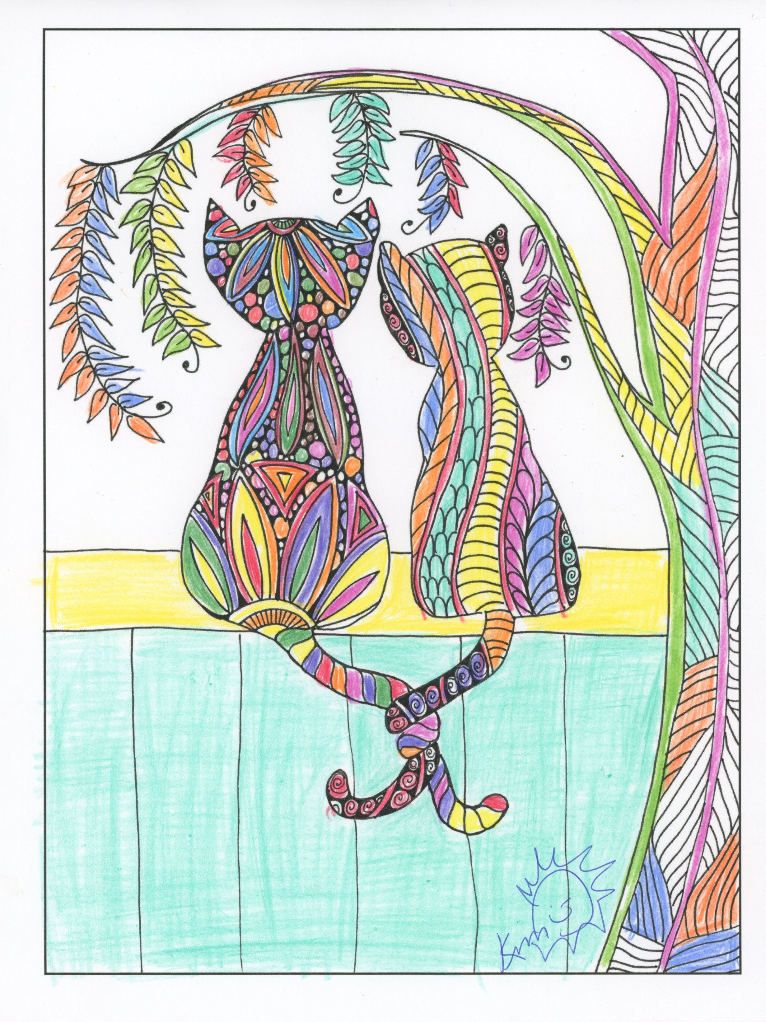 Find This Pin And More On Color Me A New Adventure From The Inkspirations For Recovery Coloring