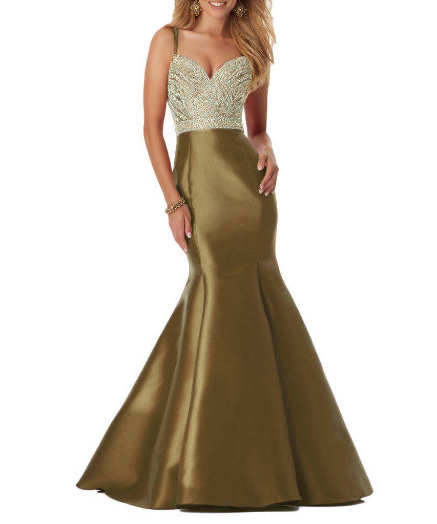 Beilite womenus sweetheart mermaid prom party dresses long with