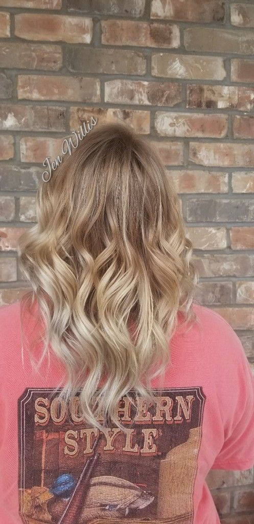 Blonde Balayage Salon Platinum Conway Arkansas Hair By Jen Hair By