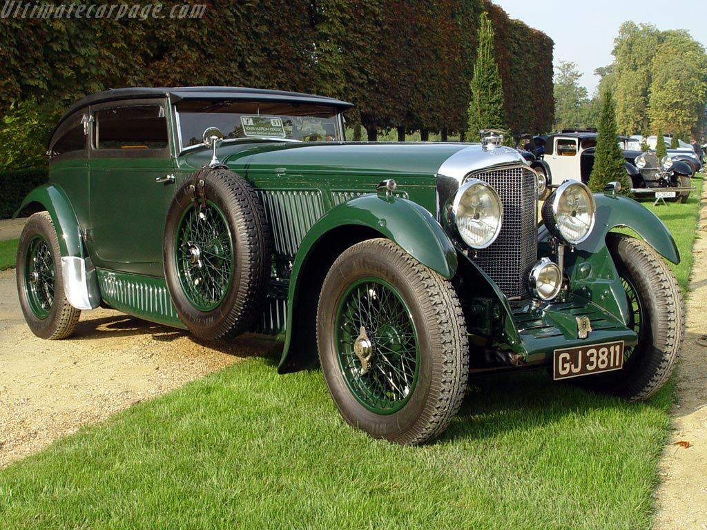 1930 - Bentley Speed Six Blue Train Special | Old times | Pinterest ...