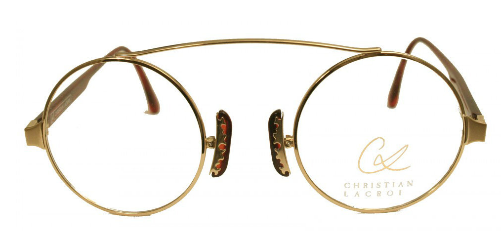 The Old Glasses Shop - Perfectly Round Genuine Designer Christian ...