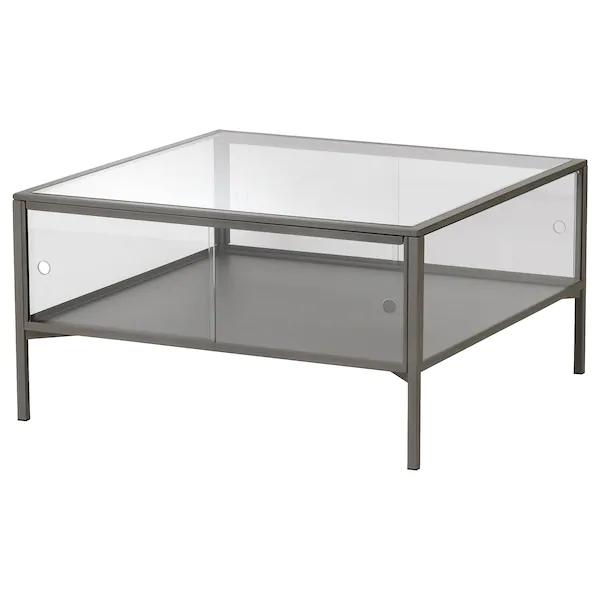 Sammanhang Coffee Table Gray Glass Ikea Ikea Coffee Table Coffee Table Grey Coffee Table
